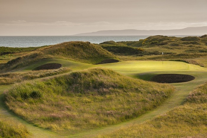 Sand links Royal Troon to triumphant Open return