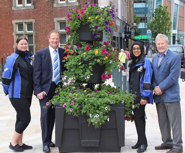 Plantscape helps Blackburn boost its flower power