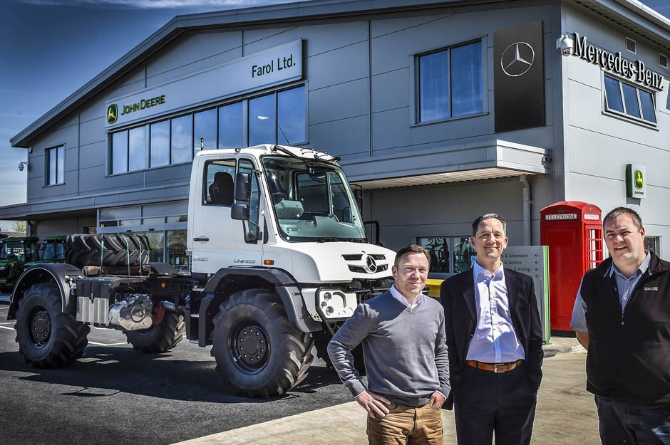 Mercedes-Benz Unimog gains traction with Farol