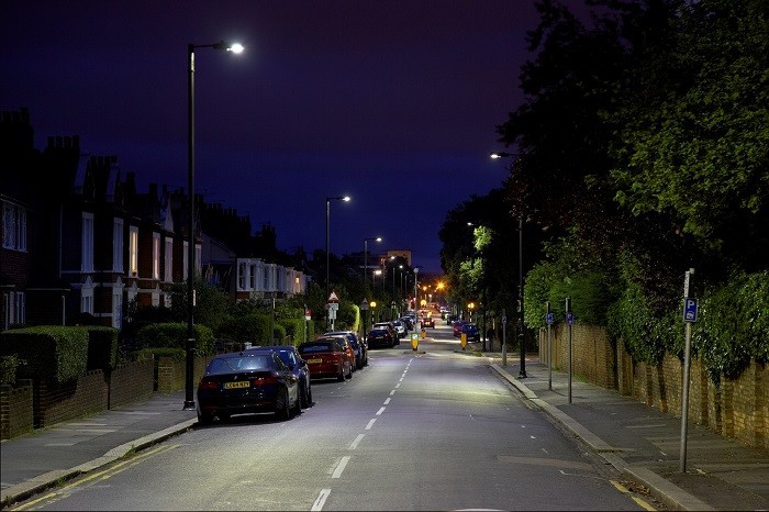 Venture's advanced street lighting creates great energy savings