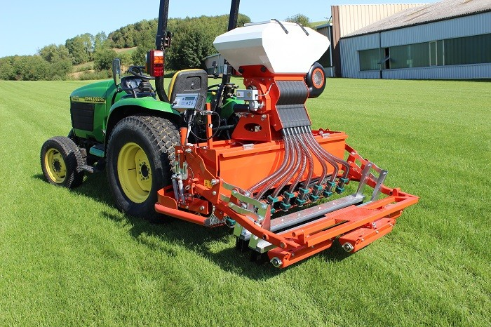 Wiedenmann's Terra Float air is the ultimate one pass overseeder