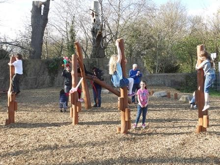 Orchard Meadow gets a bespoke natural play area