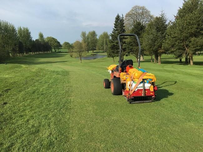 New head gardener at Ballyclare Golf Club turns to Barenbrug