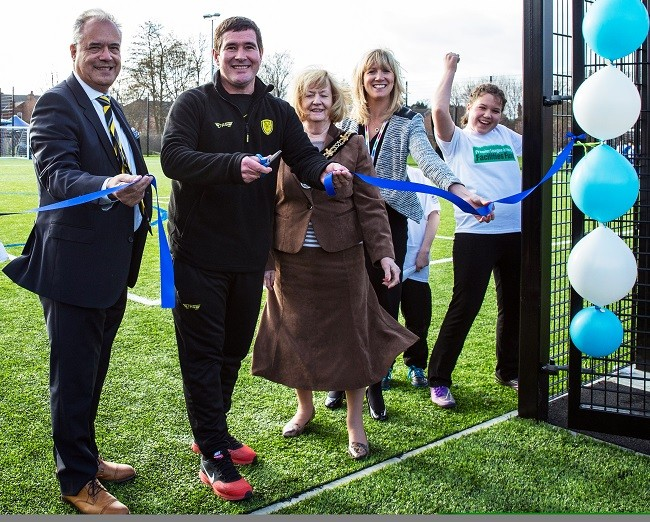 Cloughie's young man praises new Burton pitch