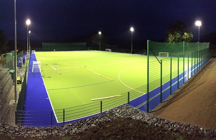 School scores with new sports surface
