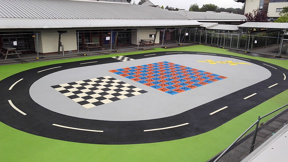 RTC Safety Surfaces completes school project