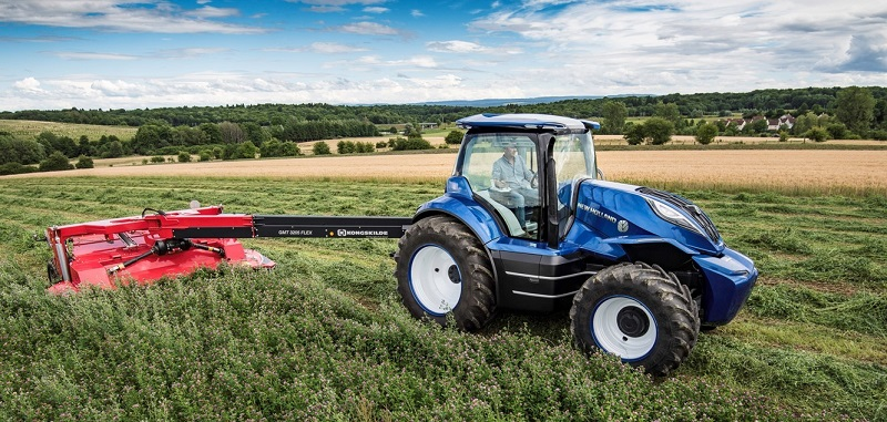 New Holland to showcase methane-powered tractor at LAMMA 2018