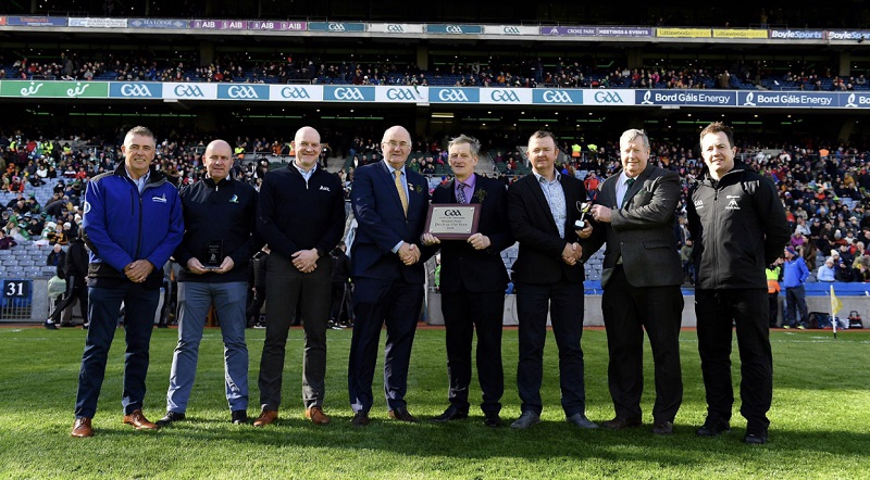 Nowlan Park receive 2018 GAA County Pitch of the Year award