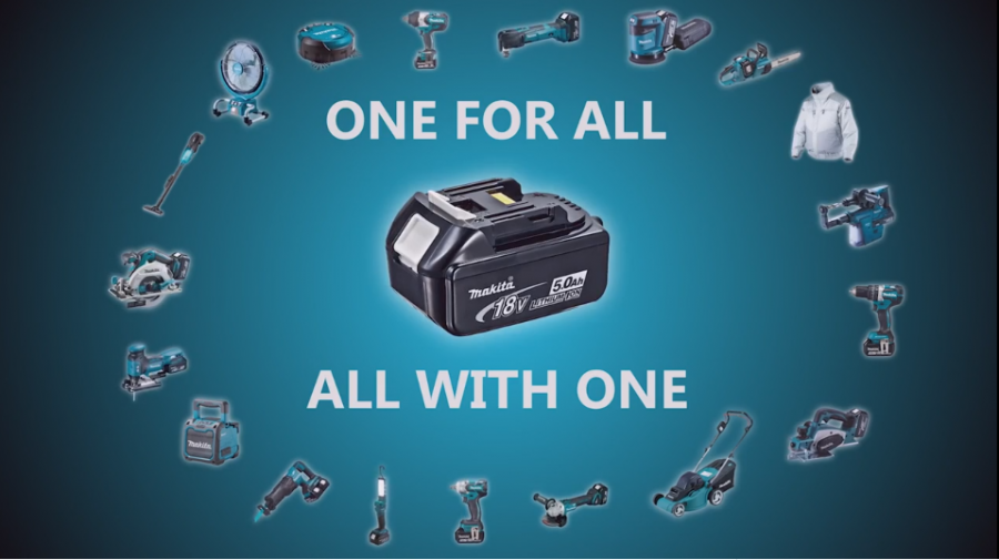 One for all - All with one Makita 18v