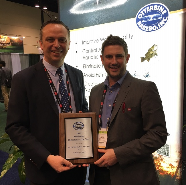 Reesink Turfcare wins Otterbine's marketing award