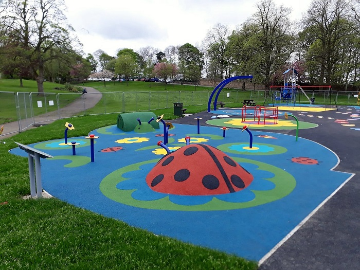 Wicksteed creates Scotland's first all-inclusive play park