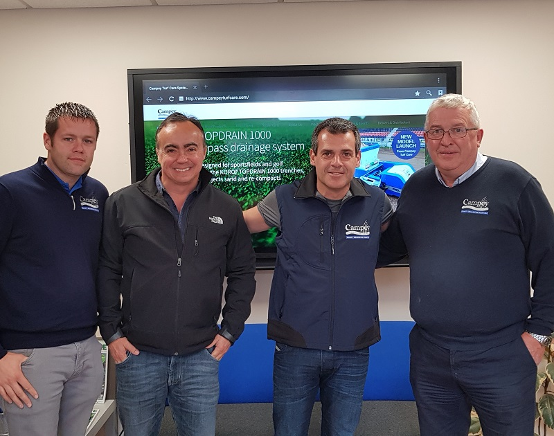 Campey appoint two new dealers in South America