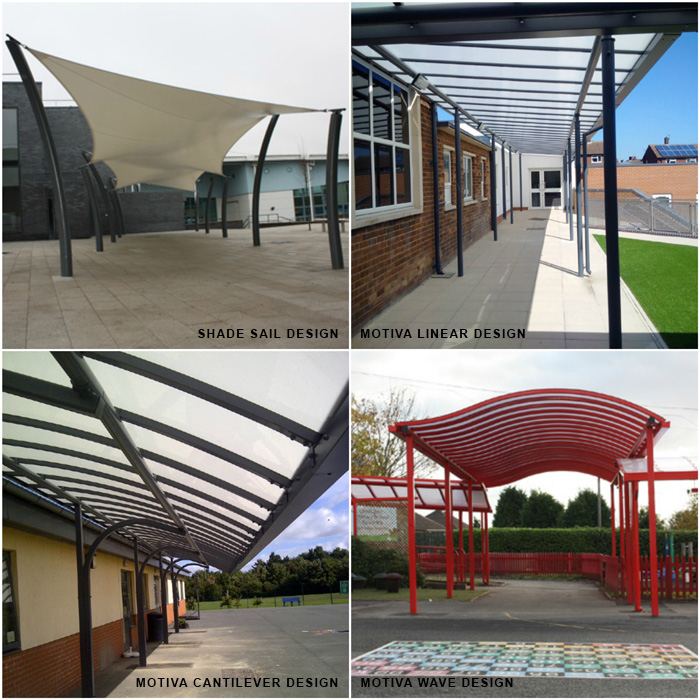 A guide to choosing the correct design for covered walkways
