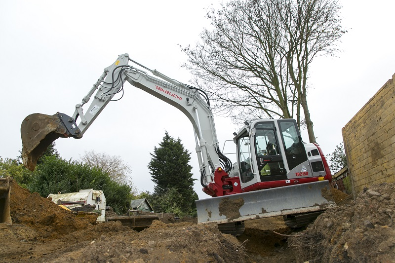 New machines from Takeuchi to be unveiled at Plantworx 2017
