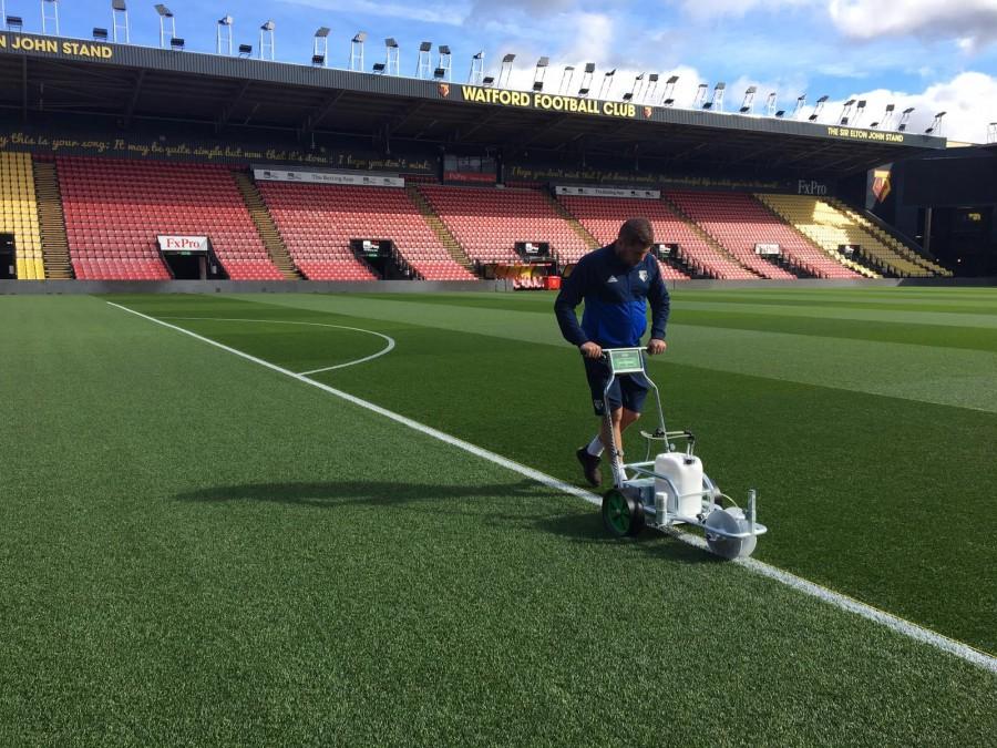 Ecoline+ hits the mark at Watford FC