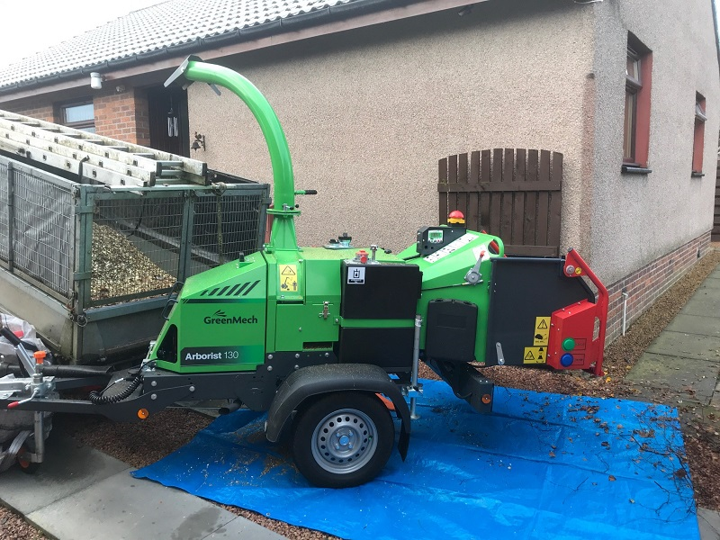 GreenMech Arborist 130 proves to be a pocket rocket for R M Brown Tree Services