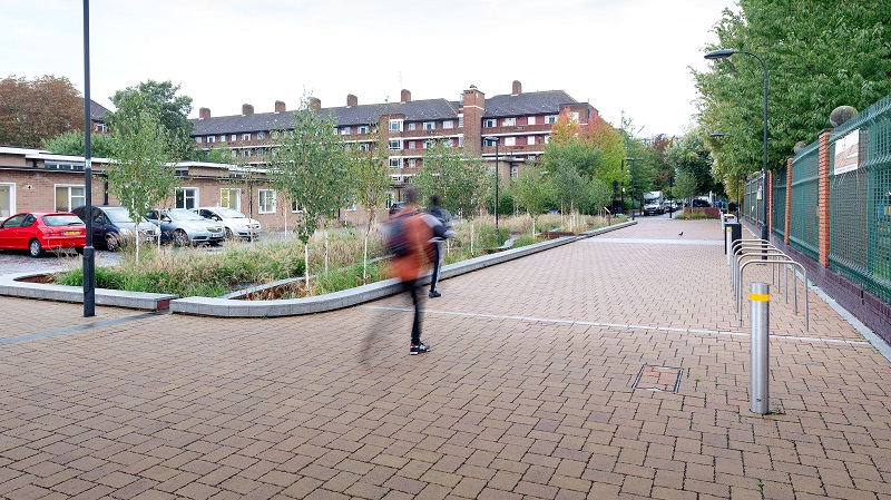 New requirement on permeable paving for SuDS