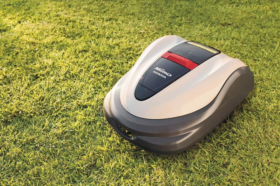 MIIMO 3000 - Honda's bigger, smarter and more convenient robot mower