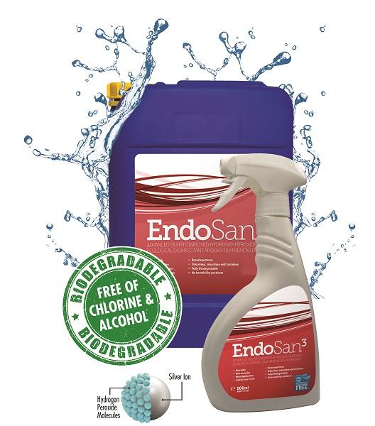 EndoSan  - for silver service sanitization