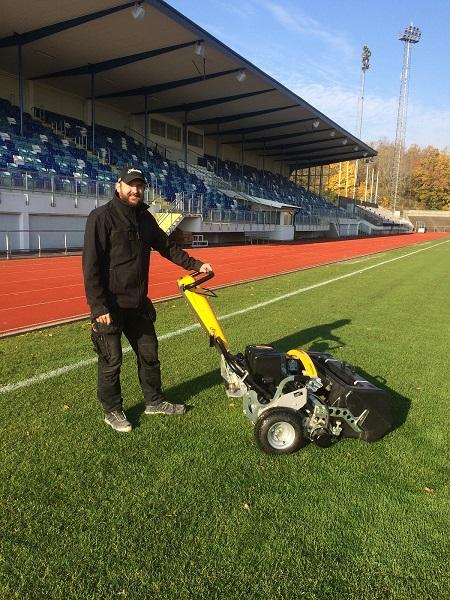 INFINICUT improves presentation for Sweden's Rimnersvallen Stadium