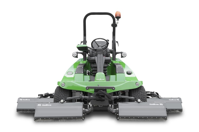 Five times better mowing with the new Roberine F5