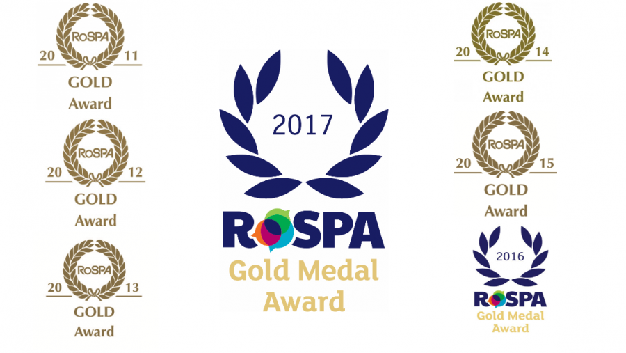 ISS wins seventh Gold RoSPA Safety Award