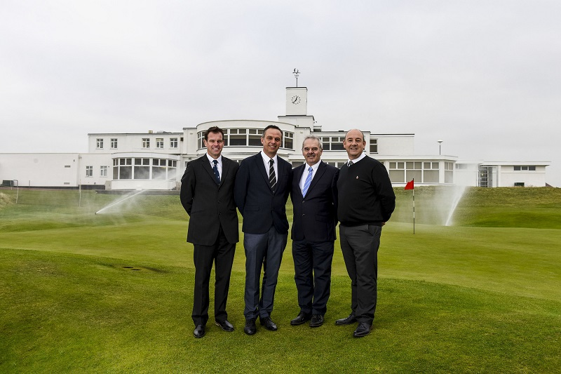 Toro irrigation saves water by 25 per cent at Royal Birkdale