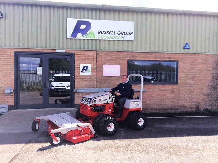 Russell Groundcare appointed Ventrac dealer