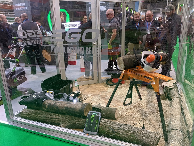 EGO saws to the top at SALTEX 2019