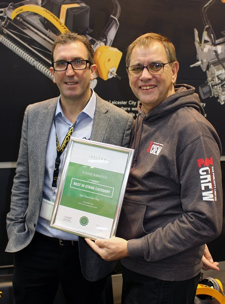 One award presented, and one received, for Cub Cadet at SALTEX 2018