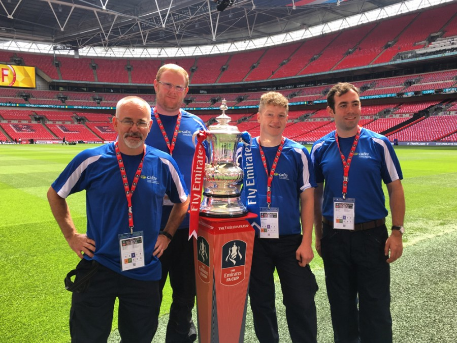 A once-in-a-lifetime 'Wembley' opportunity for SALTEX College Cup winners
