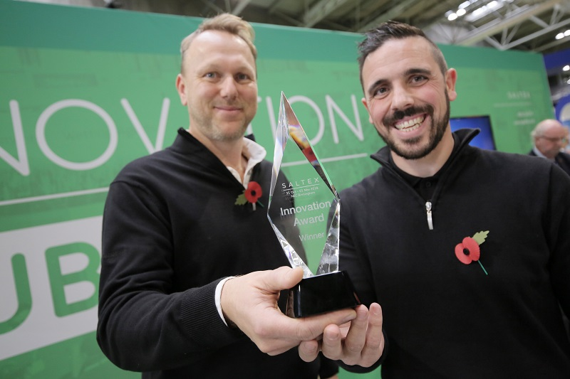 Sherriff Amenity wins SALTEX Innovation Award 2018