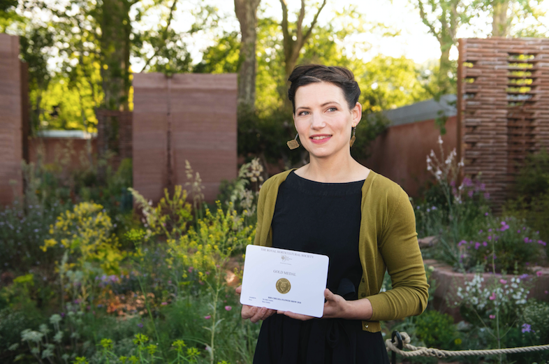 GOLD RUSH AT CHELSEA: M&G Garden designed by Sarah Price wins gold medal