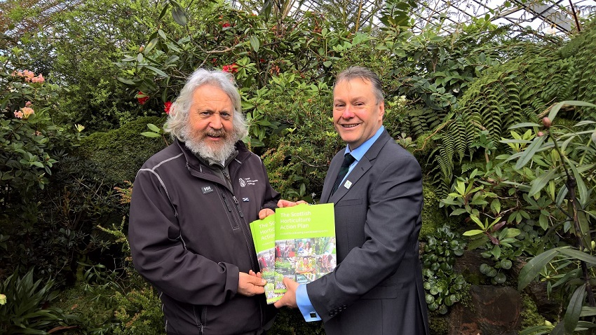 Horticultural Action Plan launched in Scotland