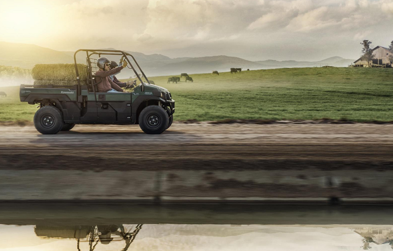 Kawasaki 2020 MULE and ATV range revealed