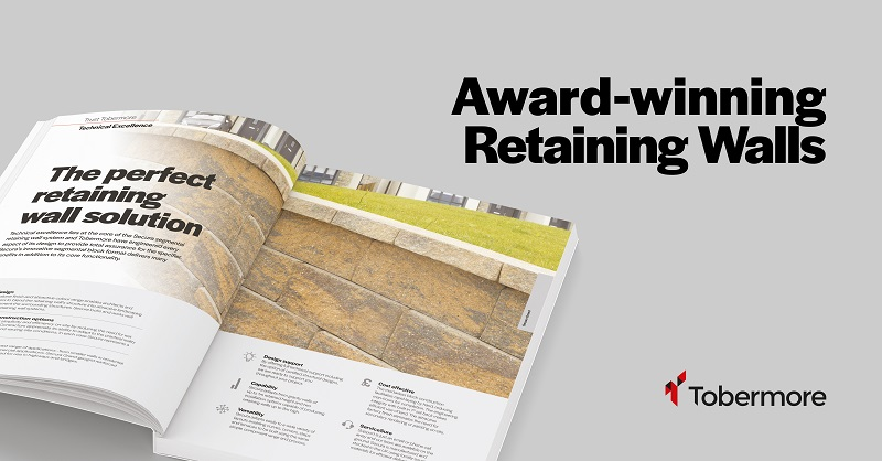 Tobermore launches new Retaining Wall brochure