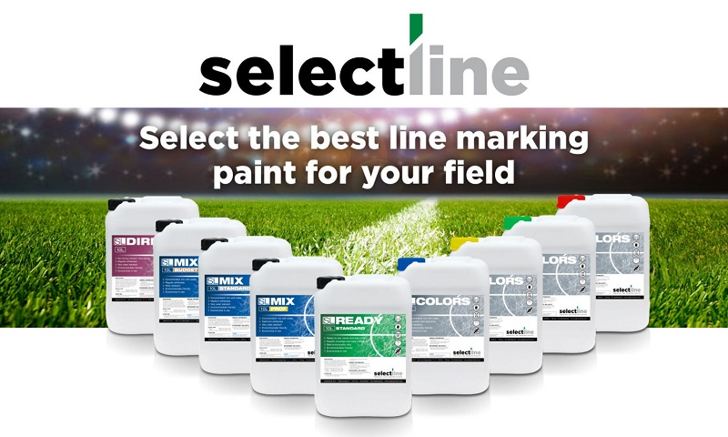 Introduction of Selectline line marking paints in the UK