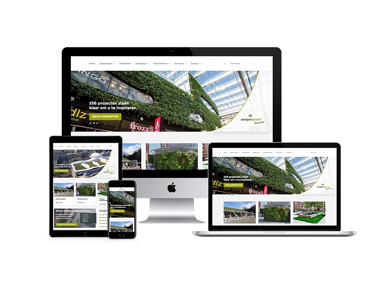Sempergreen is making a good start to the year with its new website