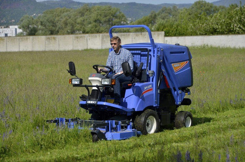Class leading features for new ISEKI mowers