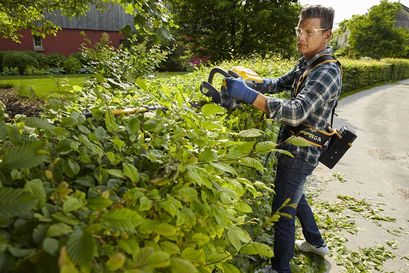 Cutting hedge technology from STIGA