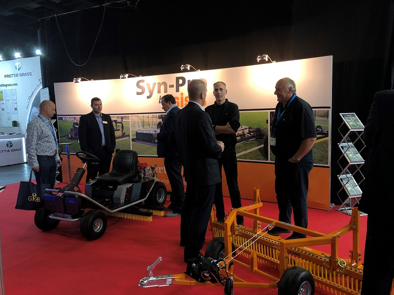 Syn-Pro by SISIS on display at FSB