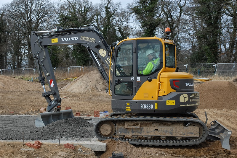 New Volvo for building contractors