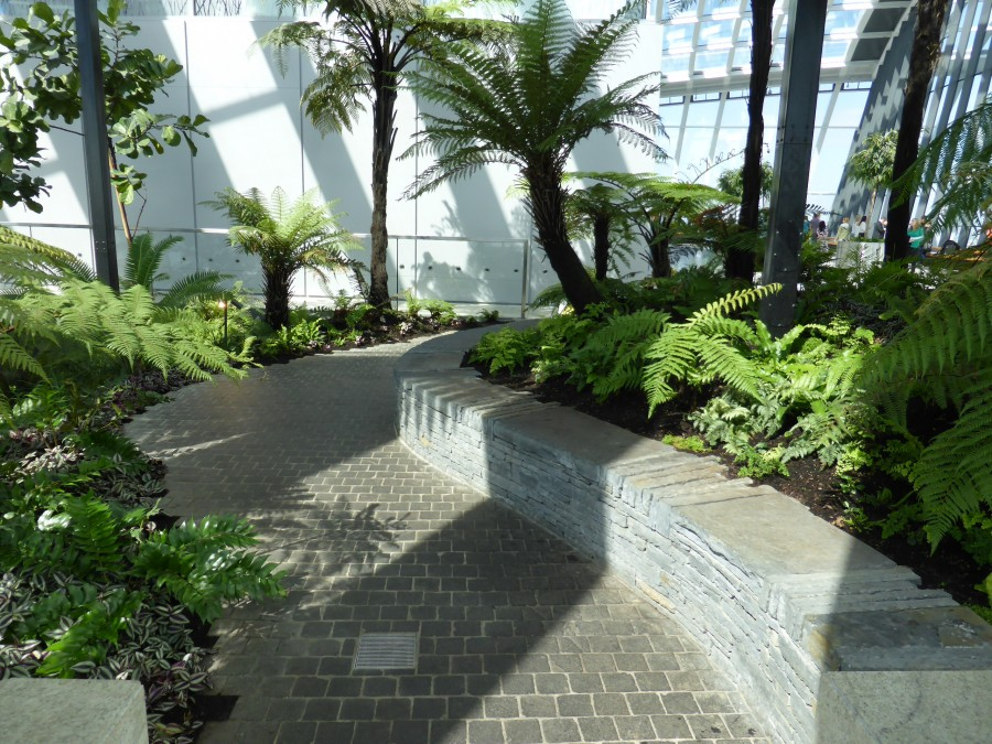 WATERSCAPES' HELPS KEEP SKY GARDEN VISITOR NUMBERS SOARING