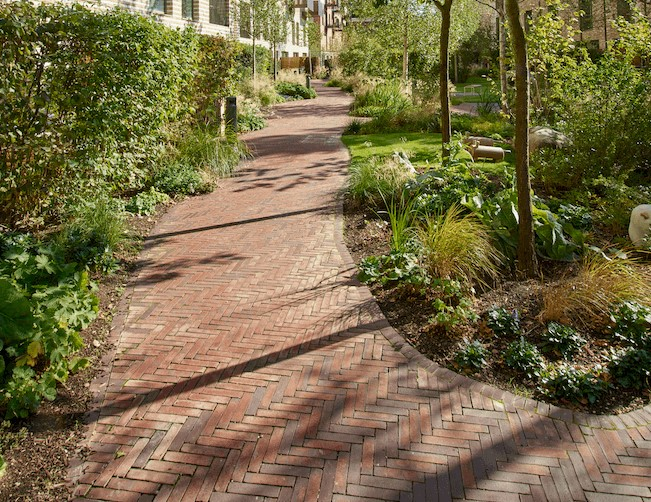 Wienerberger's clay pavers create inspiring courtyards