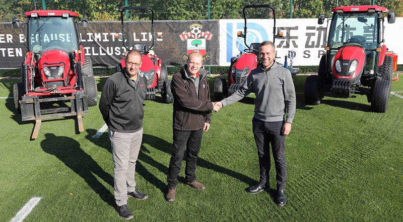Stadium and training grounds benefit from new TYM tractors