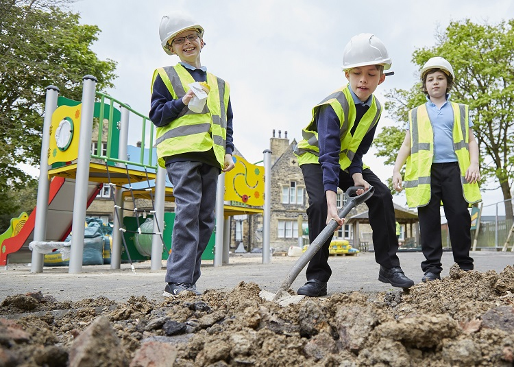 School to create a Sensory and Physical Development Area