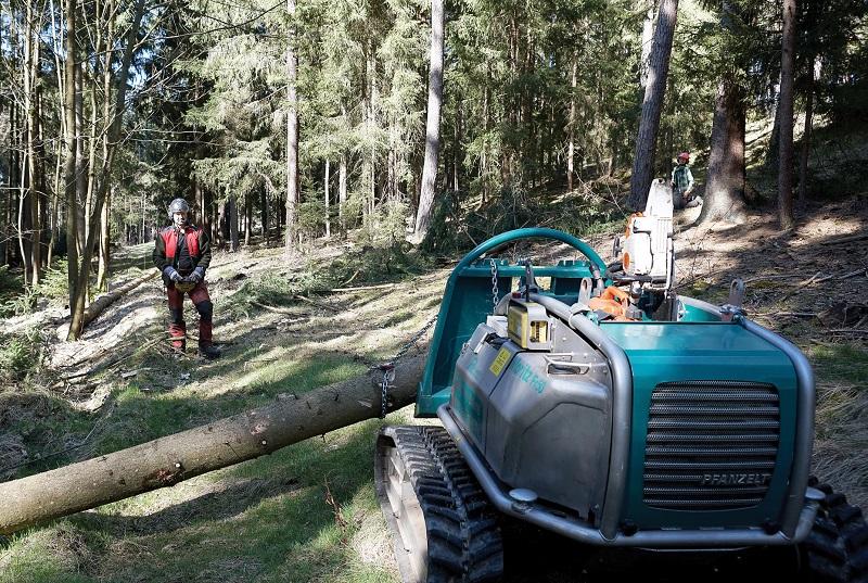Multi-purpose remote control mini tractor from Spaldings