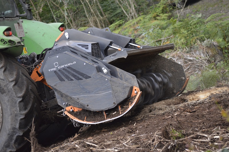 Heavy-duty vegetation mulchers from Spaldings