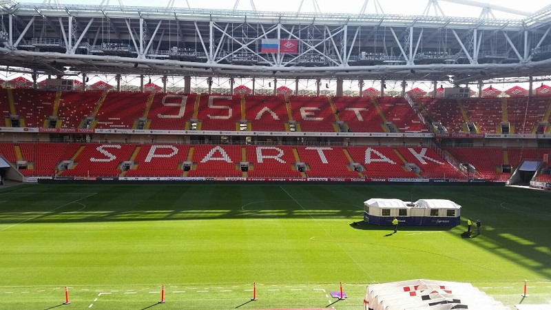 Spartak Moscow switches to SISGrass for World Cup