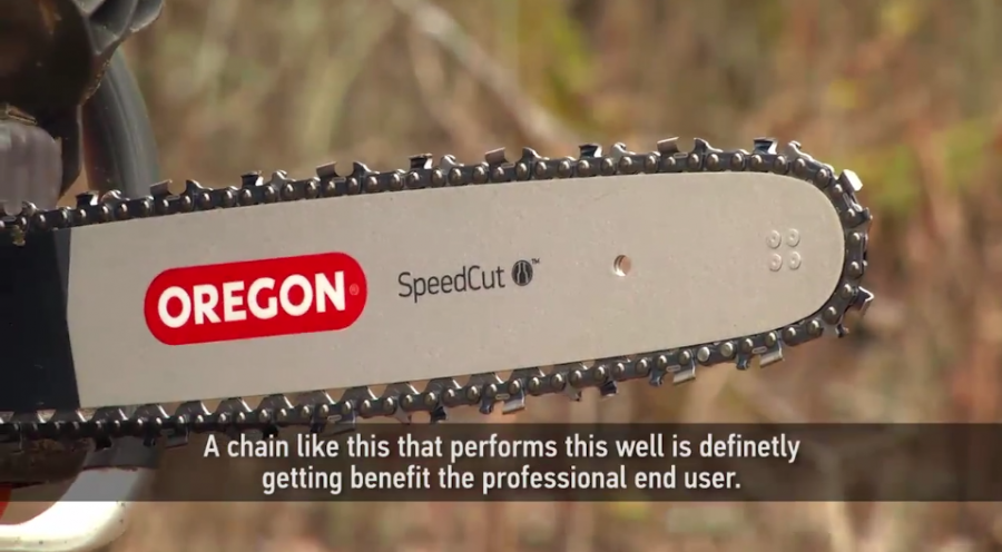 Oregon SpeedCut Saw Chain Testimonial